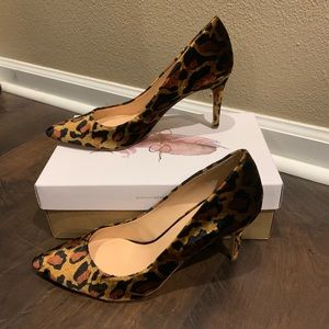 Jessica Simpson Shoes - Jessica Simpson Leopard heels
